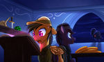 Commission #10: Daring Do and Phillip Finder