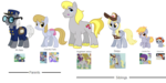 Derpy's Parents and Siblings