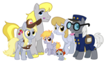 Derpy Hooves's Family