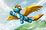 Spitfire soars up[commission]