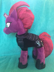 Tempest Shadow Build-a-Bear re-maned