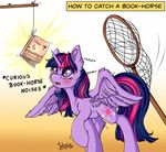 How to Catch a Book-Horse