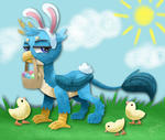 Paper Gallus Gets All the Chicks