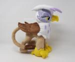 Handmade Gilda the Griffon Plushie
