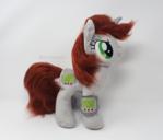 Handmade fluffy Littlepip Plushie