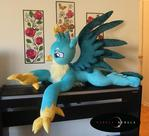 Life-Sized HUGE Plush Handmade Gallus Griffon