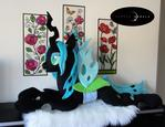 Life-Sized Queen Chrysalis Plush