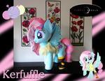 Kerfuffle Plush Pony with fur vest!