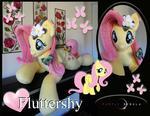 Life-Size Fluttershy Pony Plush