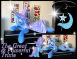 The Great and Powerful Trixie Life Size Pony Plush