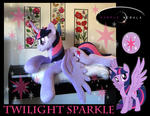 Twilight Sparkle Life Sized Plush with Wings!