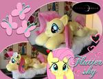 Life-Size Fluttershy Pony Plushie