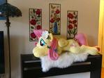 Life Size Resting Head Plush Pony