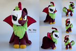 Cinder Glow Phantom of the Opera plush