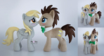 Derpy and the Doctor plushies