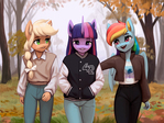 fall weather friends
