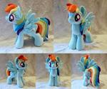 Rainbow Dash - Custom Plush
