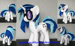 Vinyl Scratch/ Dj Pon3 plush