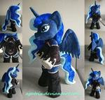 Princess Luna plush (standing on 2)