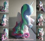 Princess Celestia plush (standing on 2)
