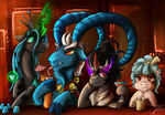 Fanart - MLP. Season 9, The Legion of...Doom?