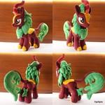 Mlp Cinder Glow/Summer Flare handmade