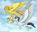 MLP YL - Flying Lessons By InuHoshi