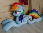 Rainbow Dash lifesize plush