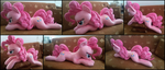 Cuddle size Pinkie Pie plush