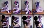 Twilight Sparkle Hugging Pony Plush