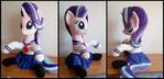 Starlight Glimmer Hugging Pony Plush + outfit