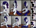 Rarity Hugging Pony Plush