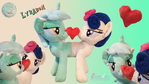 LyraBon Custom Plushie with magnetic heart