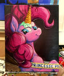 Princess Pie Color Sceem Painting