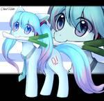 miku pony