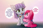 Maud and Pinkie's Rock Candy