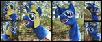 BlueStar Puppet (magnetic hair)