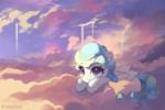 Peekaboo in clouds
