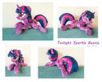 Twilight Sparkle Beanie Plushie