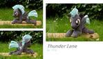 MLP Thunderlane shoulder plushie