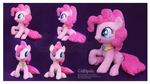 Pinkie Pie Handmade Custom Plush