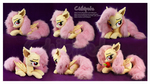 Flutterbat Laying Custom Plush
