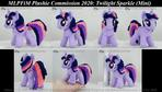 MLP FiM Plushie Commission- Twilight Sparkle 01