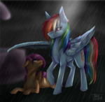 (mlp) I will always protect you [Redraw]