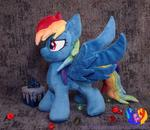 Evil Rainbow Dash