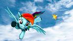 Rainbow Dash Flight