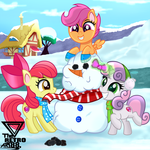 Cutie mark crusaders Winter games (Winter special)
