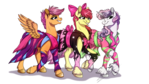 :COMM: Grown up, Pretty Mares