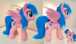 Firefly plushie w faux fur available at Bronycon