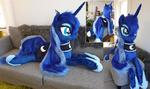 Lifesize Luna faux fur mane
